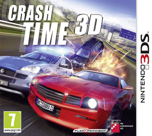 Crash Time 3D (Nintendo 3DS, 2012) - Game Only European PAL-infinitote.com