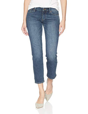 Lucky Brand Women's Sweet Crop Straight Cut Jeans Sz 00/24-infinitote.com