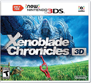 Xenoblade Chronicles 3D (Nintendo 3DS, 2015) Game Only-infinitote.com