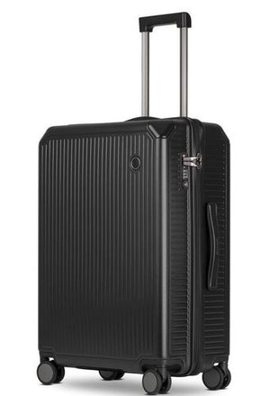 Echolac Shogun Large 28″ Upright Hardside Spinner Luggage Gray TSA-infinitote.com