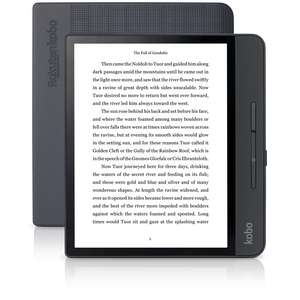 Kobo Forma - 8GB - Wi-Fi - 8in - eReader eBook Reader - Black-infinitote.com