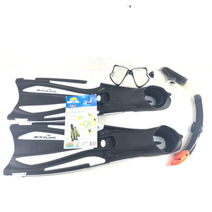 Land & Sea Sports Australia Whitsunday Silicone Mask Snorkel and Fin Set M / L-infinitote.com