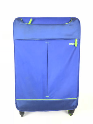 "American Tourister Sky Spinner 27"" Blue and Green Travel Luggage/Suitcase"