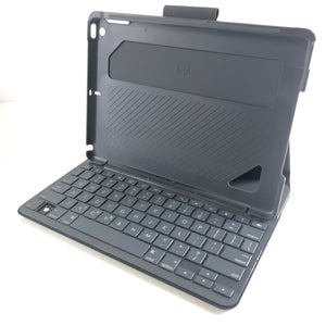 Logitech Slim Folio Case iPad Air 2 with Integrated Bluetooth Keyboard Black D-infinitote.com