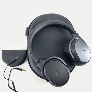 KEF Porsche Design Space One Wireless Noise-Canceling Headphones - Black-infinitote.com