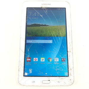 Samsung Galaxy Tab E Lite SM-T113 8GB Wi-Fi 7in White Android Tablet Read5-infinitote.com