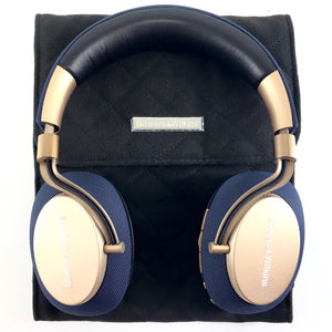 Bowers & Wilkins PX Active Noise Cancelling Wireless Headphones - Blue Gold Rd-infinitote.com