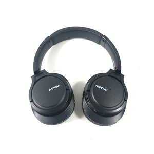 MPOW H7 19C12 Wireless Bluetooth Over Ear Headphones Black-infinitote.com
