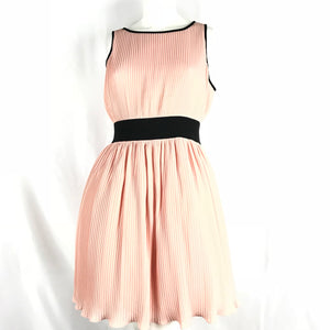 NEW Manoush Women's Pink / Black Marilyn Evening Dress Size 9.5