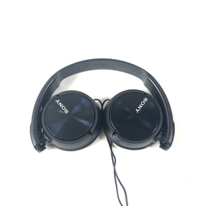 Sony MDR-ZX310 ZX Series Headphones Collapsible Black-infinitote.com
