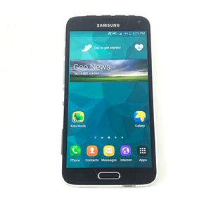 Samsung Galaxy S5 SM-G900W8 - 16 GB - Rogers - Android Smartphone - Black DEFECT-infinitote.com