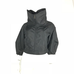Prada Black Cropped Jacket - Size IT42
