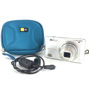 Olympus D-745 14.0MP 5x Zoom Digital Camera - Silver-infinitote.com