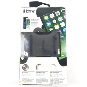 iHome IH-7P152B Sports Universal FlexBand Phone Holster Breathable Armband Black-infinitote.com