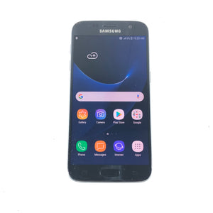 Samsung Galaxy S7 SM-G930W8 32GB Unlocked Black Onyx Android Smartphone Read4-infinitote.com