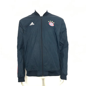 adidas Men's FC Bayern Munich Anthem Jacket Blue Sz L DP4023-infinitote.com