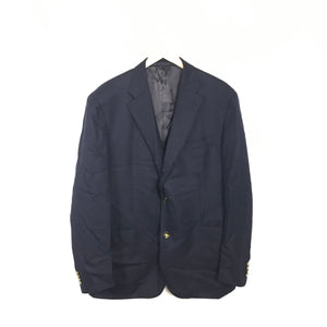 Boggi Milano Navy Blue Men's Suit Jacket - 3-Button-infinitote.com