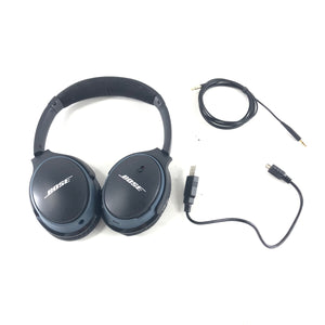 Bose Around Ear AE2 SoundLink II Wireless Headphones Black-infinitote.com