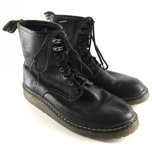 Doc Martens Men's Soft Leather Boots 1460 Black Sz 9-infinitote.com
