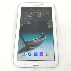 Samsung Galaxy Tab 3 SM-T210R - 8GB, Wi-Fi, 7.0 in - White Android Tablet-infinitote.com
