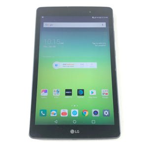 LG G Pad X 8.0 LG-V520 32 GB Wi-Fi 4G AT&T 8in Black Android Tablet-infinitote.com