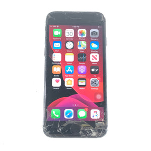 Apple iPhone 7 128GB Matte Black T-Mobile Smartphone A1778 Defect-infinitote.com