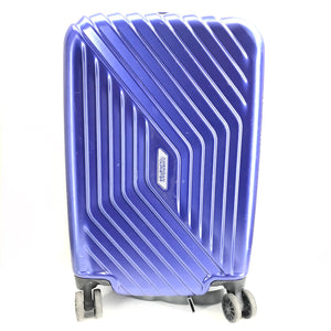 "American Tourister Luggage 21"" Airforce 1 Spinner Hardshell Suitcase Blue-infinitote.com"