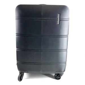 "Bugatti Black Carry On Hardshell Luggage 20""-infinitote.com"