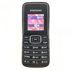 Samsung GT-E1050 Unlocked Cellular Bar Phone Black-infinitote.com