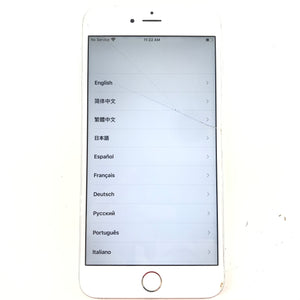 Apple iPhone 6S + Plus Silver Smartphone IC LOCK FMI ON For Parts V1-infinitote.com