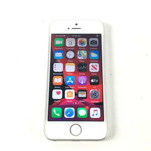 Apple iPhone SE 16 GB Unlocked Silver Smartphone A1723 Read-infinitote.com