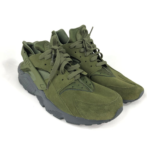 c68d3456cb7e Nike Air Huarache Run SE Legion Green Sneakers Sz 11.5 852628-301 –  infinitote.com