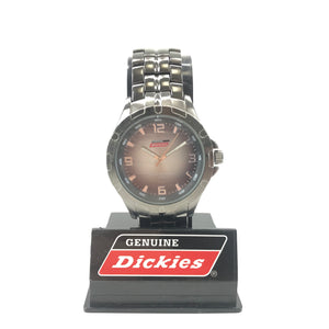 Genuine Dickies Men's Quartz Stainless Steel Gunmetal Gray Watch 90-105-infinitote.com