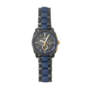 Fossil Machine Two-Tone Stainless Steel Men's Watch FS5164 45MM-infinitote.com