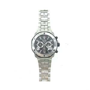 Bulova Marine Star 98B016 Men's Stainless Steel 44MM Watch-infinitote.com