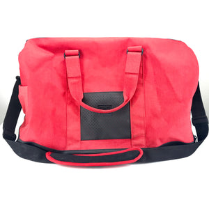 "Herschel Novel 20"" Duffel Bag with Shoulder Strap - Red on Red-infinitote.com"