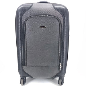 "Samsonite 23"" Carry On Expandable Hardside Spinner Luggage - Black-infinitote.com"