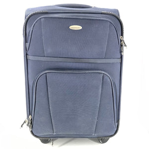 "Samsonite 23"" Carry On Expandable Spinner Luggage Suitcase - Blue-infinitote.com"