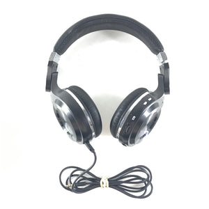 Bluedio Turbine Hurricane Bluetooth Wireless Over-Ear Headphones - Black-infinitote.com