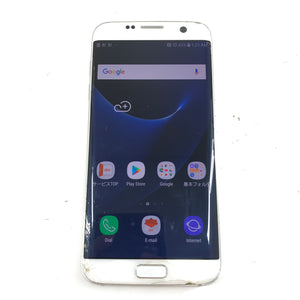Samsung Galaxy S7 Edge SCV33 32GB Locked to AU Smartphone White Read-infinitote.com