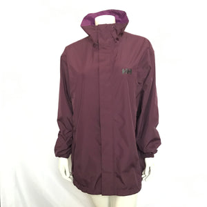 Helly Hansen Womens Hustad Waterproof Jacket Shell Only Purple XXL-infinitote.com