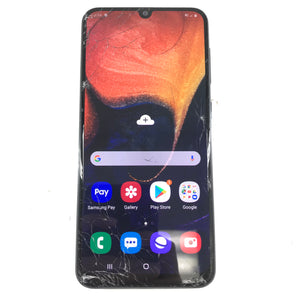 Samsung Galaxy A50 SM-A505W 64GB Unlocked Android Smartphone - Black C1-infinitote.com