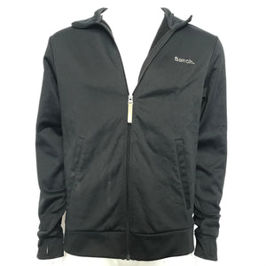 Bench Men's Full Zip Softshell Size L - Black-infinitote.com