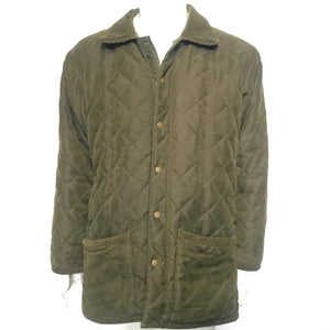 Duck Valley Men's Quilted Hunting Jacket Olive Green Sz XL-infinitote.com