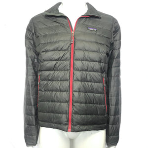 Patagonia Men's Down Sweater Jacket Grey Gray Sz M-infinitote.com