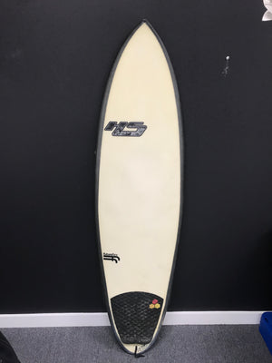 Haydenshapes Surfboards Psychedelic Germ FutureFlex Surfboard - Beige with Tail Grip-infinitote.com