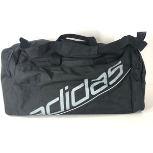 adidas Basic Essential Sports Gym Bag Black/Silver 42 liters V42427-infinitote.com