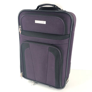 "Air Canada 21"" Softshell 2 Wheel Luggage Carry On Purple-infinitote.com"