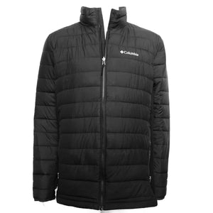 Columbia Men's Mighty Lite Hybrid Jacket - Black Sz L-infinitote.com