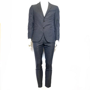 Hugo Boss Blue Reyno/Wave' Extra Slim Fit Super 140 Suit Jacket 38R and Pants 32-infinitote.com